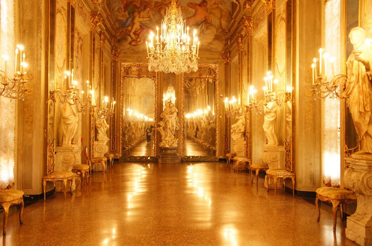 mirror halls royal palace genoa