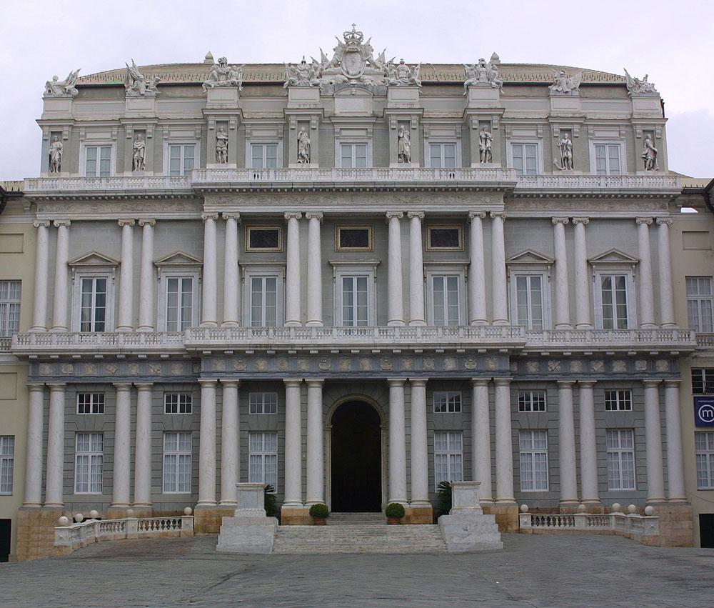 palazzo ducale genoa italy